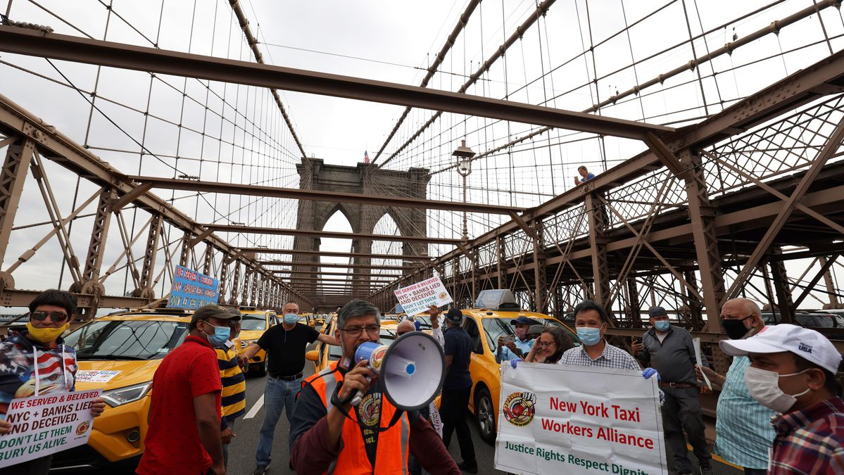 New York Taxi Drivers Shut Down Bridges In Desperate Call To End 'Life Sentence To Debtor's Prison' – Forbes