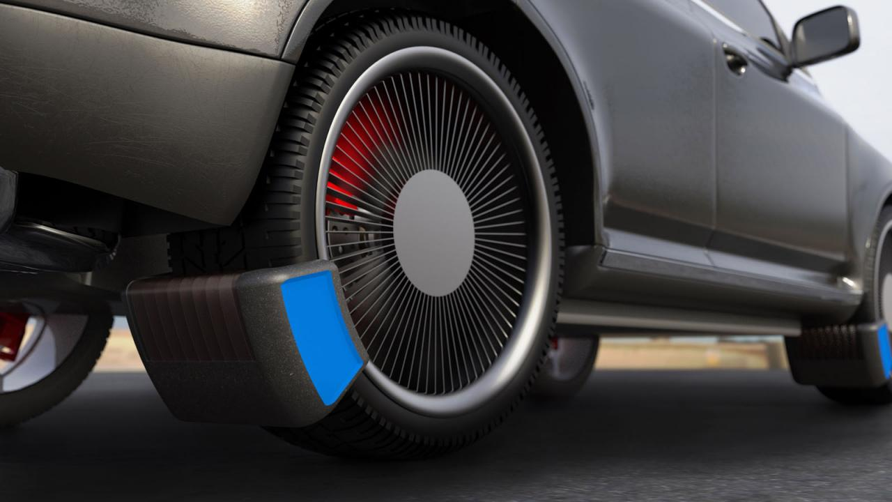 This clever device helps reduce tyre emissions – Top Gear
