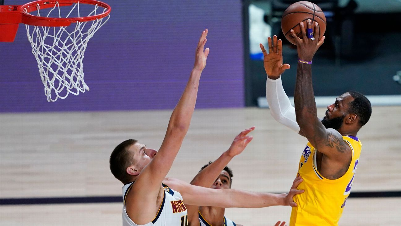 Los Angeles Lakers' LeBron James has nothing but respect for resilient Denver Nuggets – ESPN