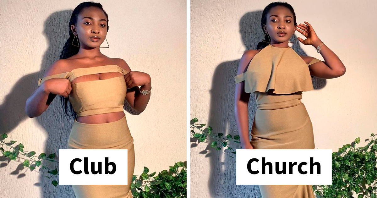 Fashion Designer Creates Dresses That Can Be Worn In Many Different Ways