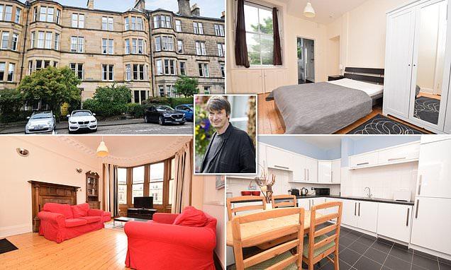 Edinburgh flat where fictional hero lives in Ian Rankin's crime novels goes up for sale for £425,000