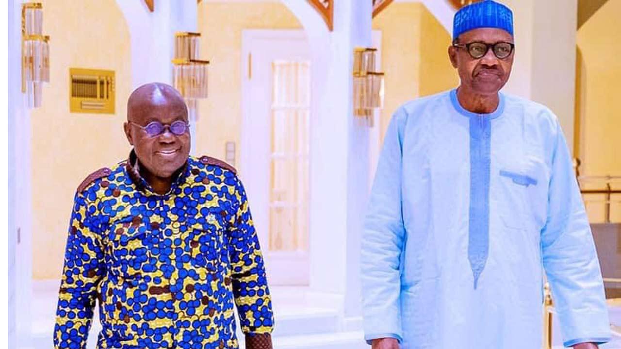 Buhari holds closed-door meeting with Ghanaian president at Aso Villa – Guardian